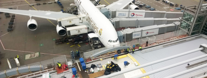 Flughafen Frankfurt Bedachung