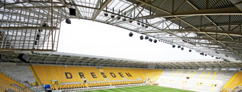 Dynamo Dresden Stadiondach